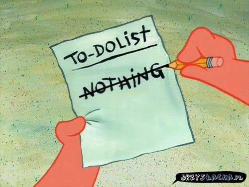 Plan na niedzielę