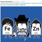 Nowy pierwiastek chemiczny zostanie nazwany na cześć Lemmy'ego Kilmistera?