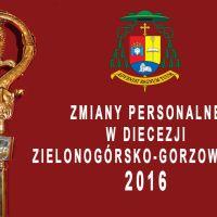 Zmiany personalne w diecezji