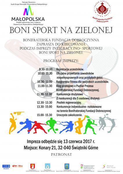 Boni- sport na Zielonej!