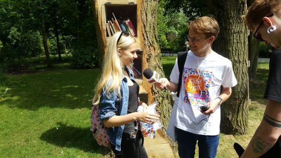 Eska Summer City na spacerze w parku Kochanowskiego