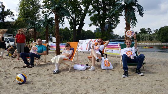 Wyspa Młyńska - turniej siatkówki plazowej