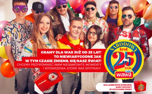 Radio WAWA ma 25 lat