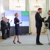 Ryszard Bukański odznaczony przez Prezydenta Andrzej Dudę