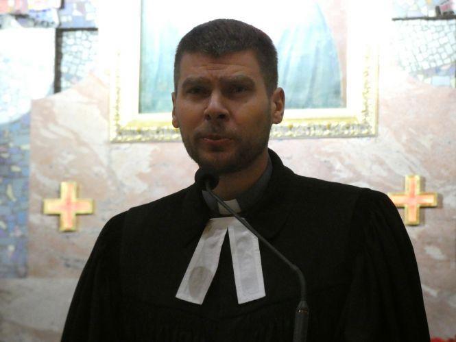 Tydzień Modlitw o Jedność Chrześcijan: kościół MB Dobrej Rady w Zgierzu. Ks. Michał Makula.
