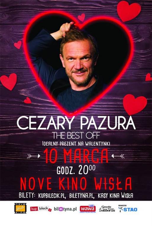 """""""Cezary Pazura THE BEST OF"""" - najnowszy program kabaretowy"""