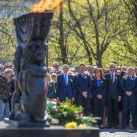 Warszawa pamięta o powstańcach z getta