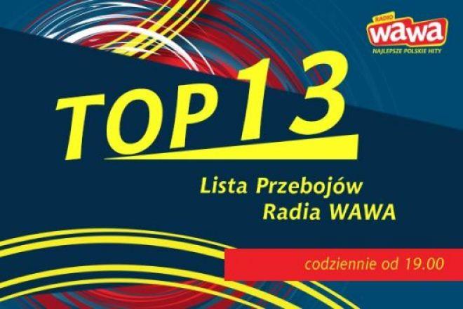 TOP 13 Radia WAWA to lista przebojów najpopularniejszych polskich utworów