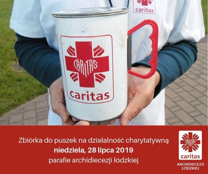 Caritas: 28 lipca zbiórka do puszek