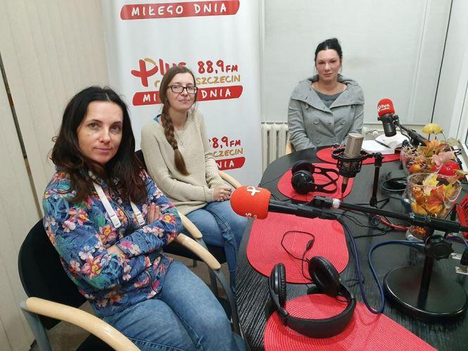 Marzena Białowolska (Dzika Ostoja), Ewa Grabowska (OTOZ Animals), Karolina Winter - Zielińska (TOZ Szczecin)