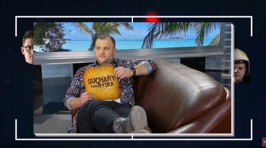Suchary Pana Ryśka z Gwiazdami w VOX FM. Czadoman zaskoczył Ryśka!