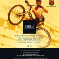 Kolarskie indywidualne Mistrzostwa Polski w Trialu Rowerowym, AKCJA KRAKÓW, Galeria Krakowska, Kraków