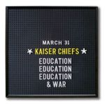 "Kaiser Chiefs ""Misery Company"" - nowa piosenka z płyty ""Education, Education & War""! [2014, AUDIO]"