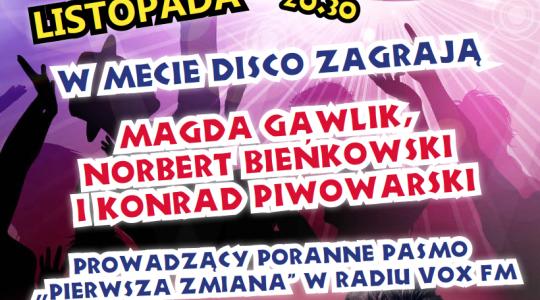 Gorączka Sobotniej Nocy z VOX FM | 04.11.17